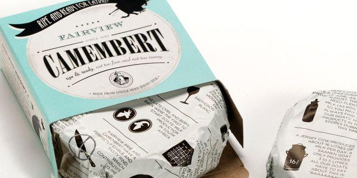 Camembert - beautiful packaging