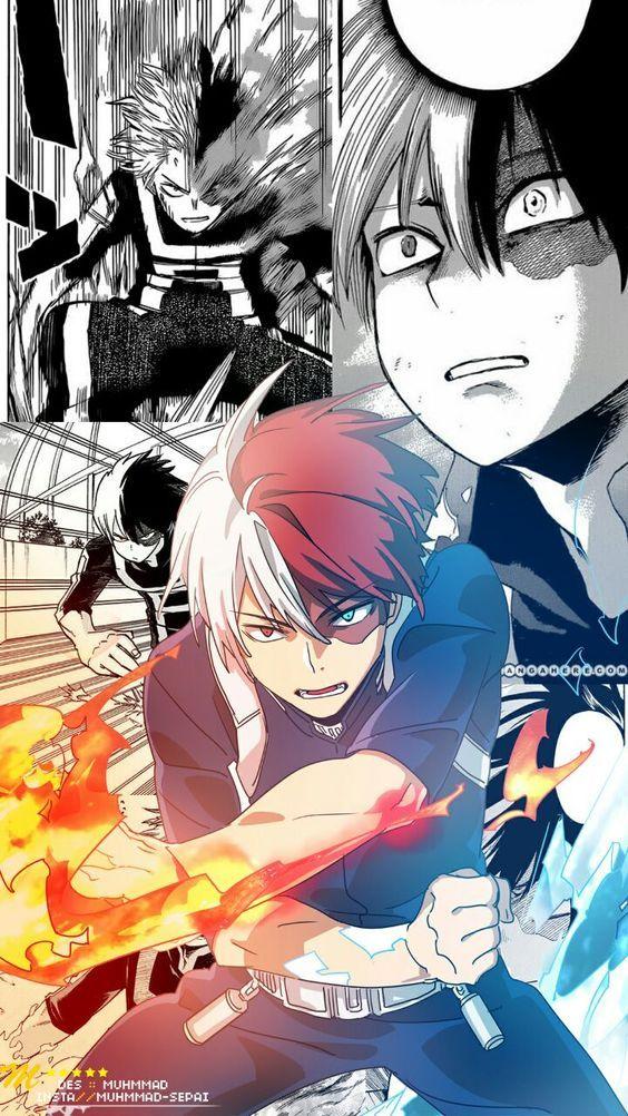 Home Com Imagens Shouto Personagens De Anime Memes De Anime