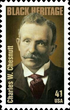 41 Cents Charles W Chesnutt Commemorative Stamps Stamp Usa Stamps