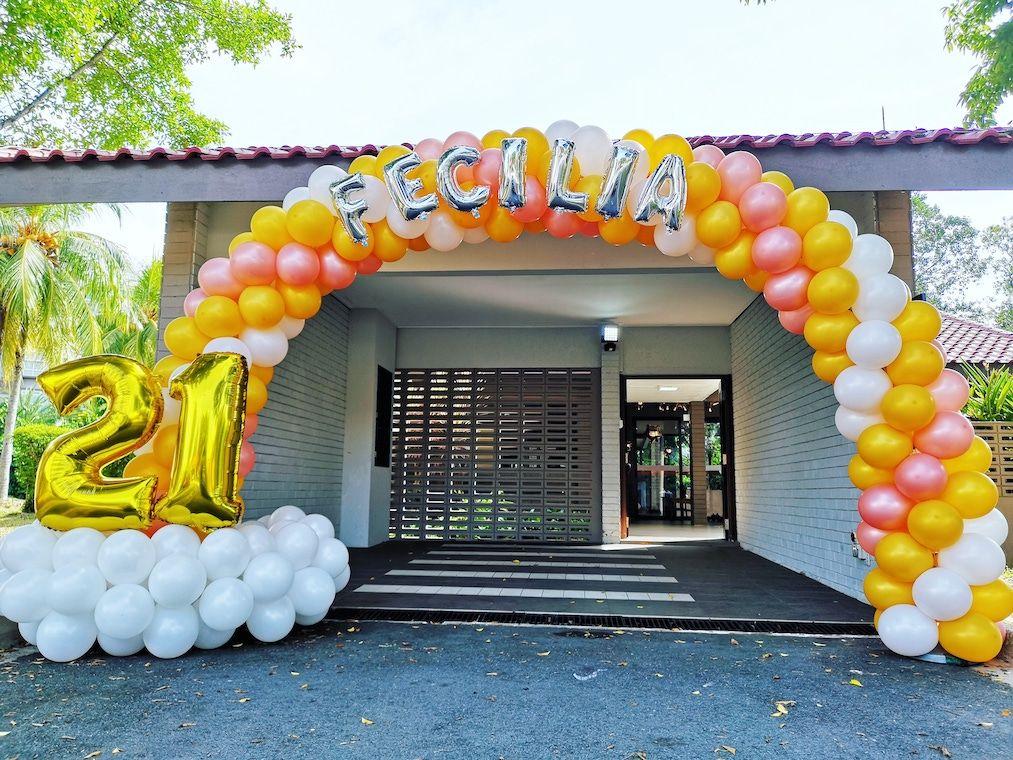 Balloon Decoration in Singapore Balloon decorations