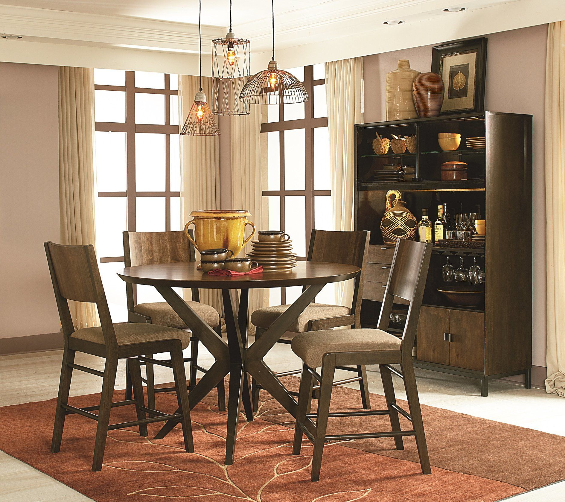 Vintage Pub Style Dining Room Sets Design For Small Rustic Spaces Fascinating Dining Room Table Sets For Small Spaces Decorating Inspiration