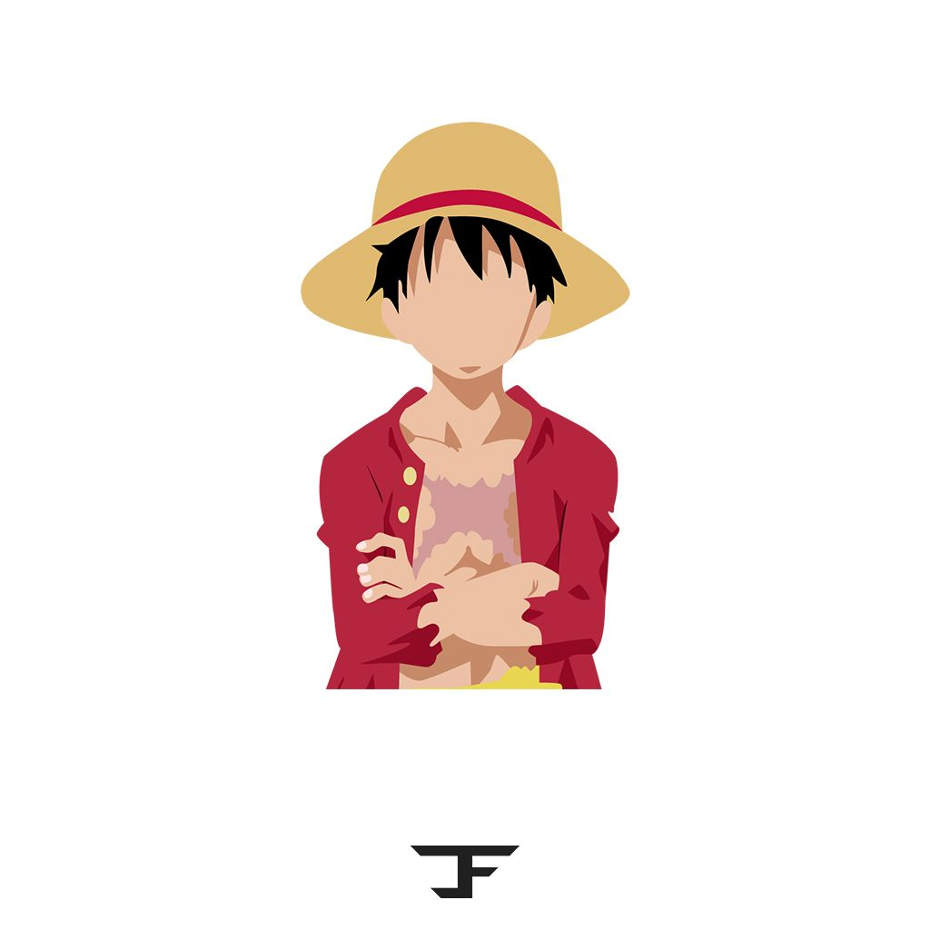 One Piece Monkey D Luffy Vector Art Do You Love Anime Do You Love Vector Illustration As Well Then Check Out This Account Wallpaper Ponsel