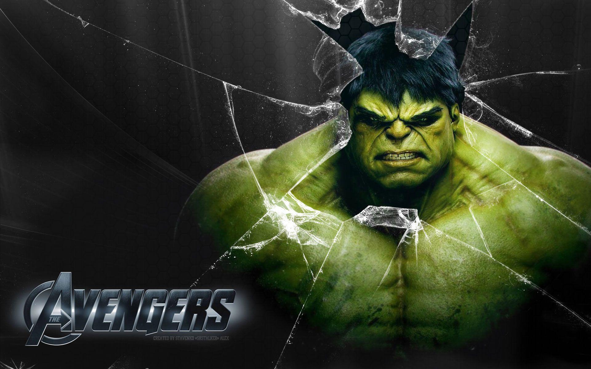 Free Download Wallpaper Avenger Hulk Character HD   a ...
