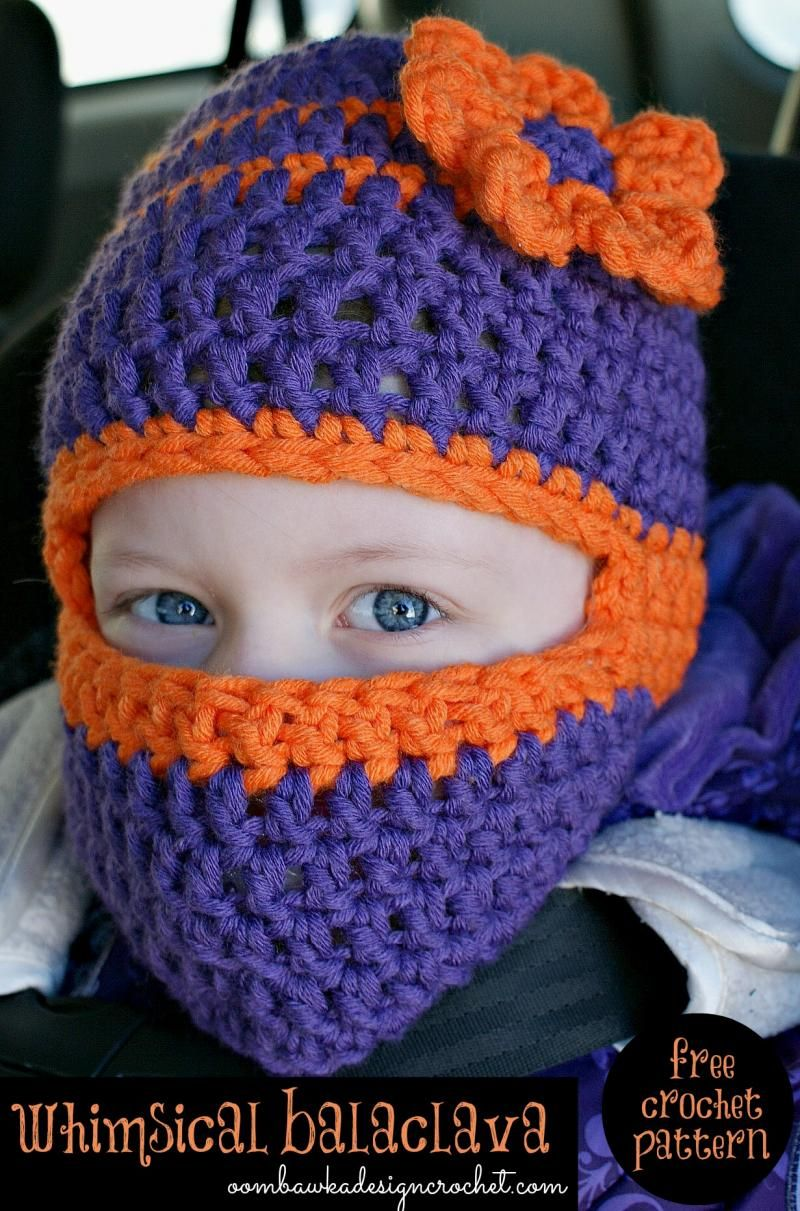 Whimsical Balaclava Toddler Size - The Yarn Box The Yarn Box ...