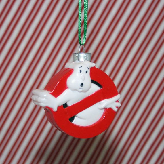Ghostbusters No Ghost Logo Christmas Ornament by ReGeekery on Etsy,  $7.95...Soren - Ghostbusters No Ghost Logo Christmas Ornament Prezzies