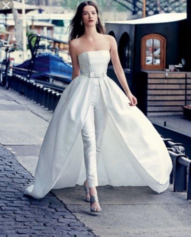 Bridal pantsuit   Wedding   Pinterest