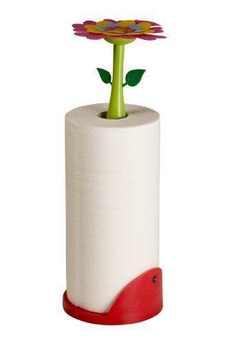 Halter für Küchenrolle FLOWER POWER inkl. Papierrolle :: auf ztyle ...