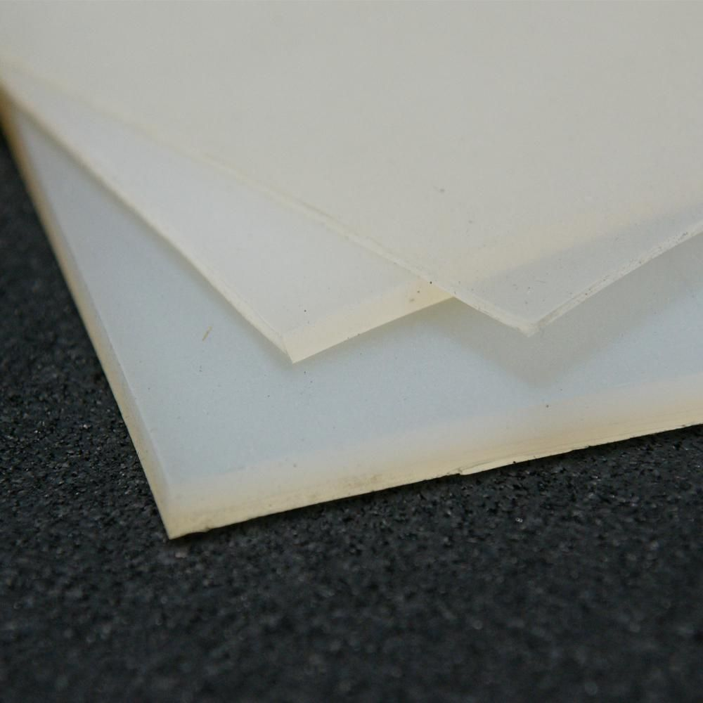 Rubber Cal Silicone 1 16 In X 36 In X 12 In Translucent Commercial Grade 60a Rubber Sheet 20 119 0062 36 012 The Home Depot In 2020 Silicone Sheets Translucent Translucent Silicone