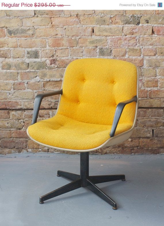 Your Place To Buy And Sell All Things Handmade Yellow Office Chair Modern Retro Furniture Modern Home Office Desk