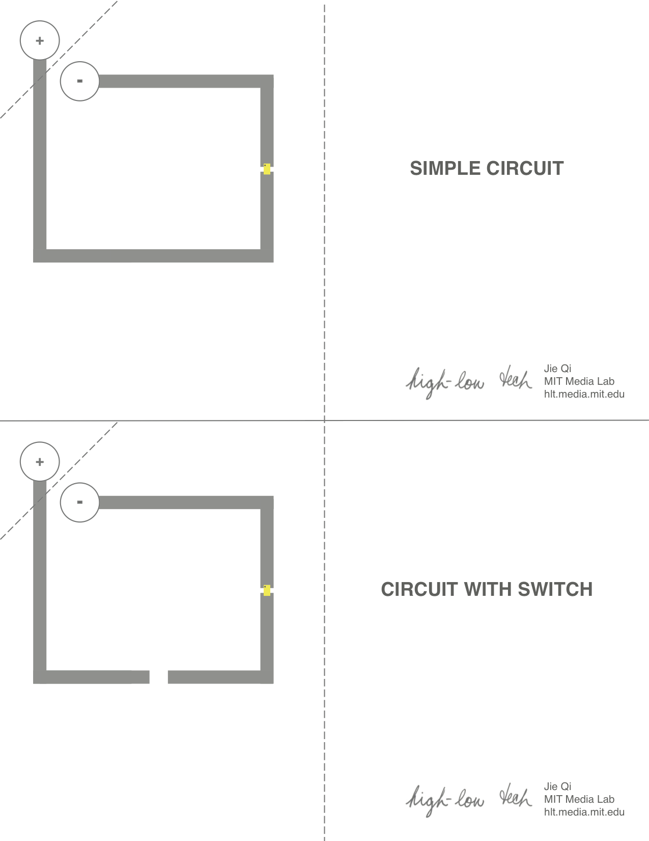 small resolution of paper circuit templates