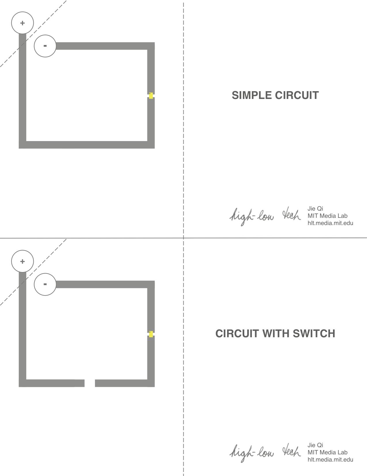 medium resolution of paper circuit templates