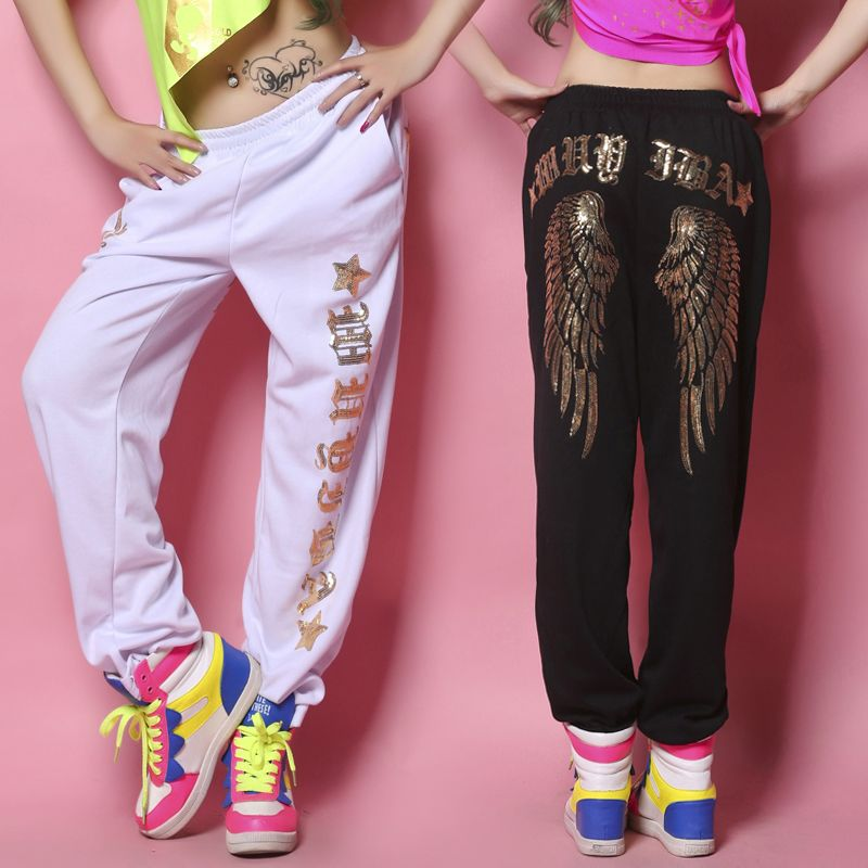 Photo of €29.34 |2013 New Brand Jazz harem women hip hop jogging pants Casual joggers loose sweatpants ds costume dance Trousers|pants for tall women|trousers men|trousers leggings – AliExpress