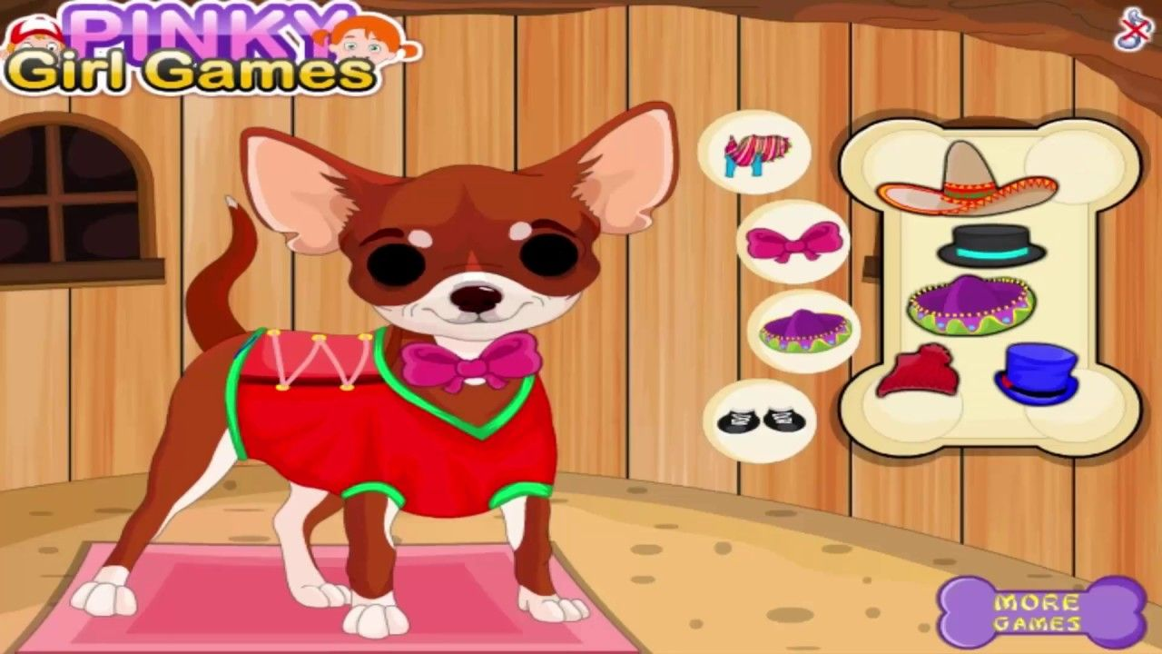 My cute little pet puppy care-Free online games for kids
