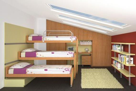 Possibility For Fitting Three Kids In One Room Someday Bedroom