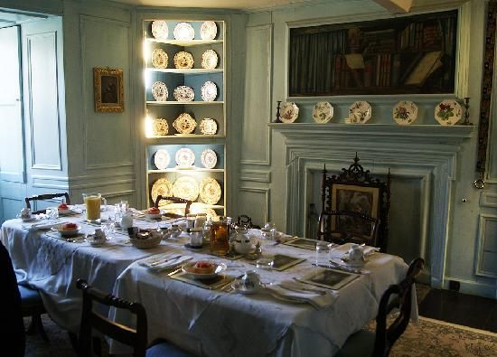 Dining Room, Traquair House, Scotland