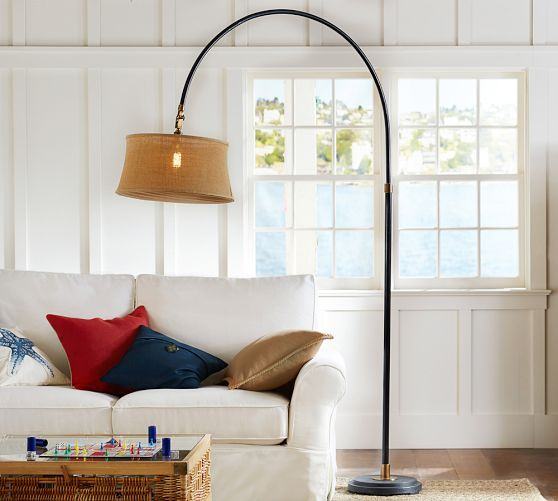 Pottery Barn Marston Lamp: Winslow Arc Sectional Floor Lamp