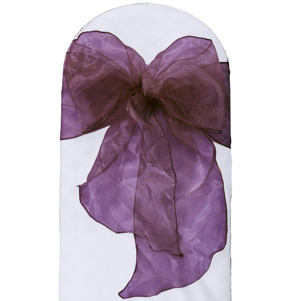 Found it at Joss & Main - Sheer Organza Chair Bow