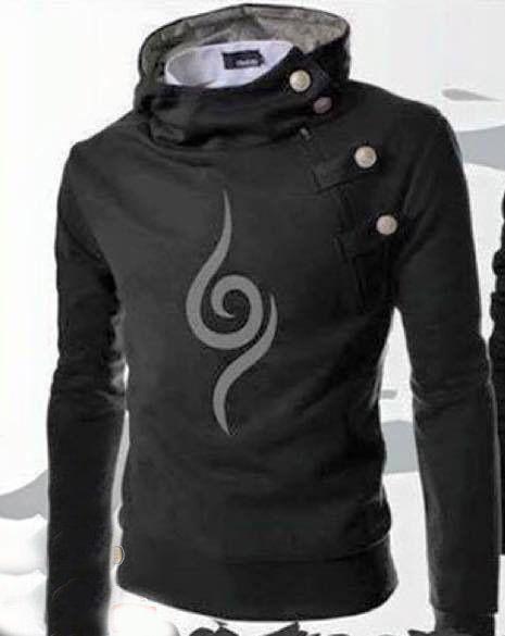 Naruto Anbu Harajuku Hoodie Cosplay Jacket Costume Harajuku Hoodie Naruto Clothing Anime Hoodie