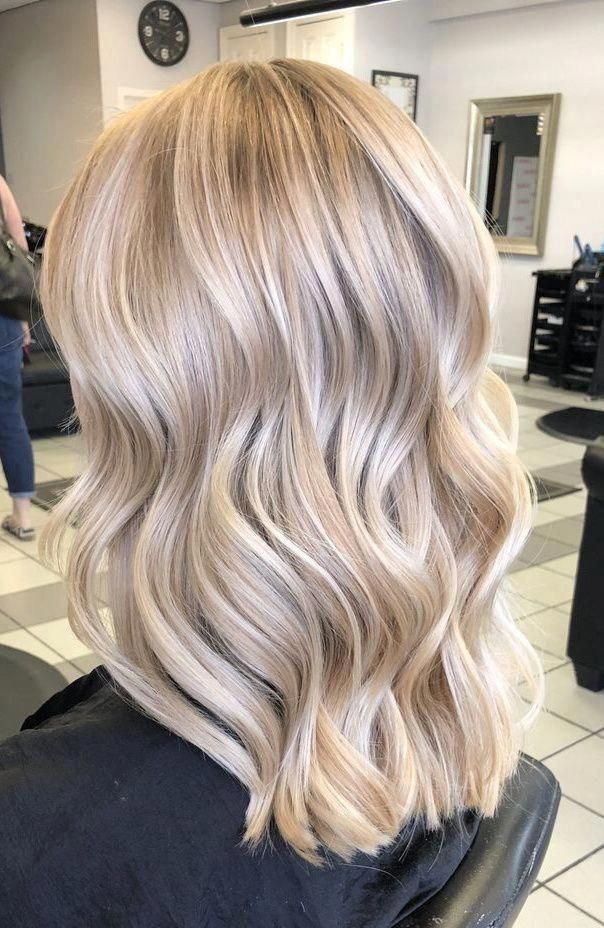 Champagne Blonde Balayagehairblonde Blonde Hair Looks Champagne Blonde Hair Champagne Blonde