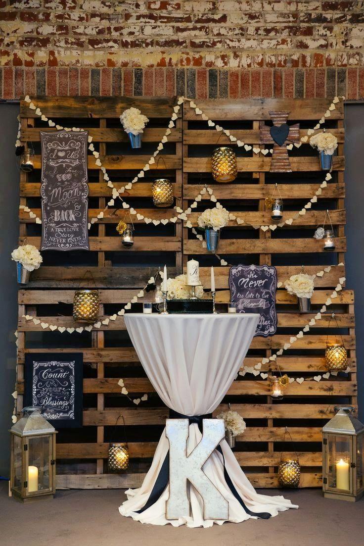 10 ideas para reciclar palets para bodas d co for Ideas para reciclar palets