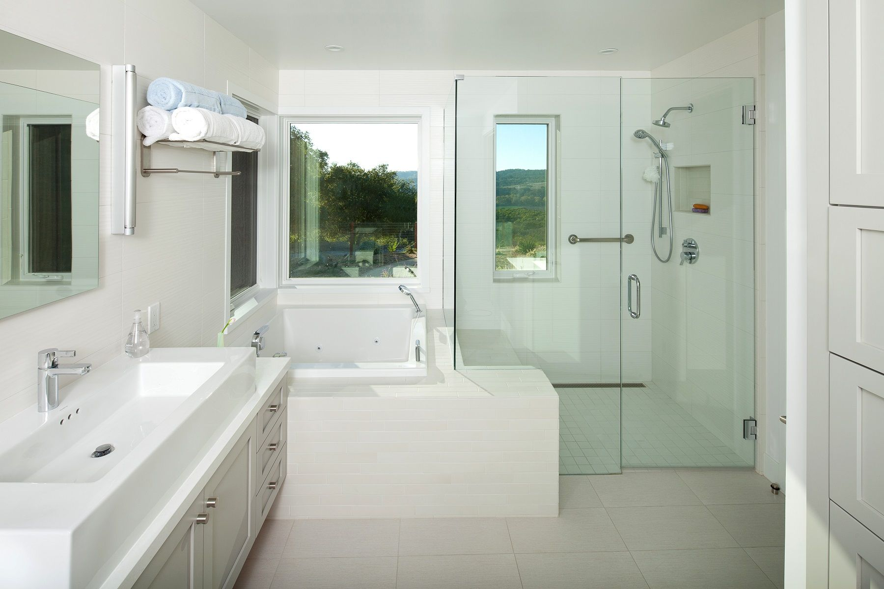 small bathroom with separated toilet | ... small bathroom remodel ...