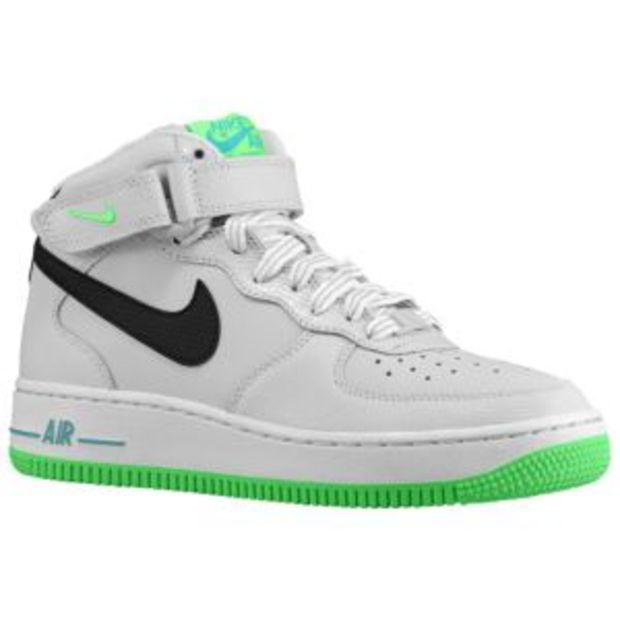 Nike Air Force 1 - Milieu Catégorie Garçons École De Mode De Vie Blanc