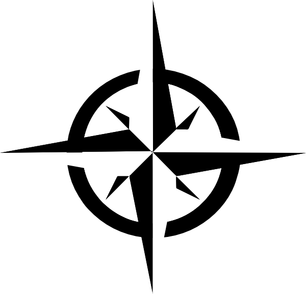 white compass rose clip art vector clip art online royalty free rh pinterest com Simple Compass Rose Basic Compass Rose