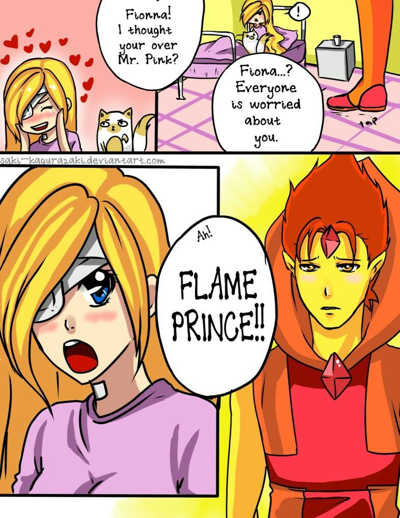 Flame Prince and Fionna~ by The-Human-Girl on DeviantArt