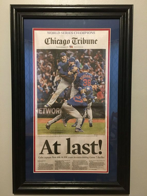 bfff00323b4 At Last Chicago Cubs 2016 World Series Baseball Champions ...