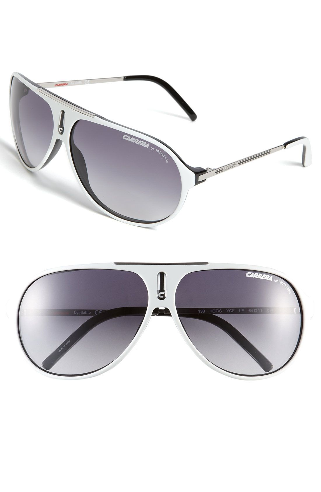 f7c37f13de Carrera Eyewear  Hots  64mm Aviator Sunglasses available at  Nordstrom