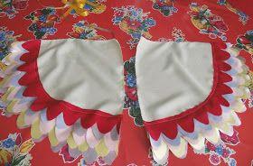 Bird wings pattern: Llevo el invierno ♥: M.a.k.e. Alitas !