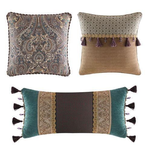 Croscill Home Fashions Zarina Boudoir Pillow