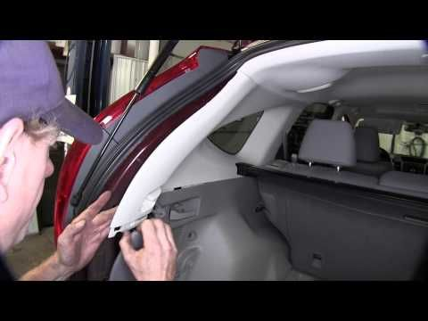 Installation Of A Trailer Wiring Harness On A 2014 Honda Cr V Etrailer Com Youtube Honda Cr Cr V Car Shop