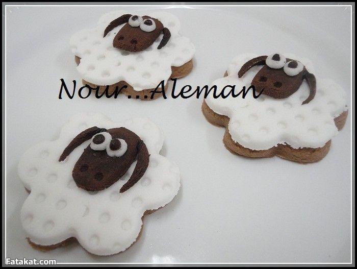 بسكويت خروف العيد من نورالايمان عجب أولادى جدا وتشكيلة أبيض فى أسود منتدى فتكات Gingerbread Cookies Sugar Cookie Gingerbread