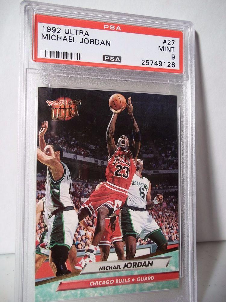 1992 Fleer Ultra Michael Jordan PSA Mint 9 Basketball Card