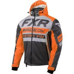 Photo of Fxr Rrx Jacke Grau Orange L