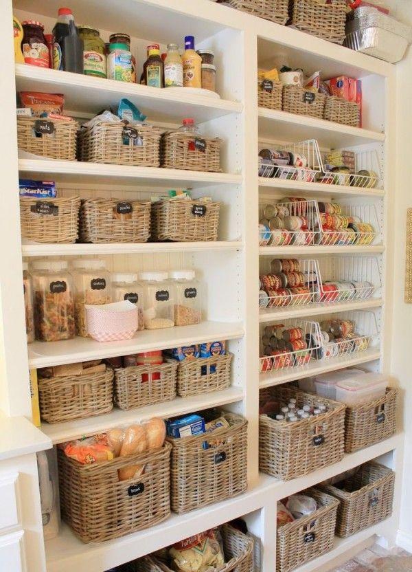 Organização | Despensas | Pinterest | Kücheneinrichtung und Häuschen