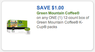 image regarding Safeway Printable Coupons known as Environmentally friendly Mountain K-Cups Coupon: 33¢/K-Cup Presently Just at