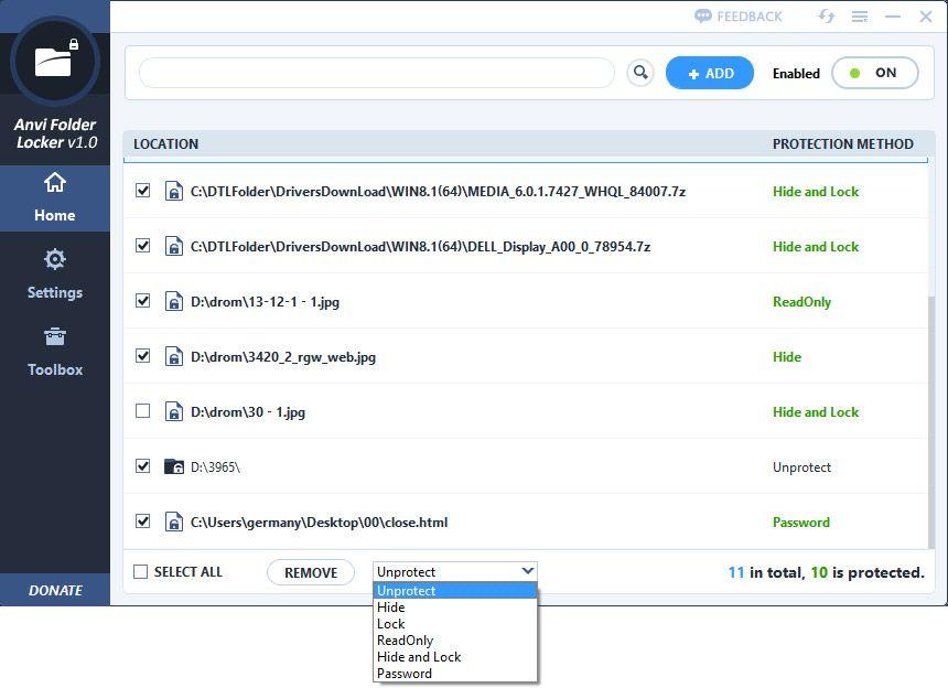 برنامج Anvi Folder Locker لقفل الملفات والفولدرات برقم سري How To Remove Lockers Tool Box