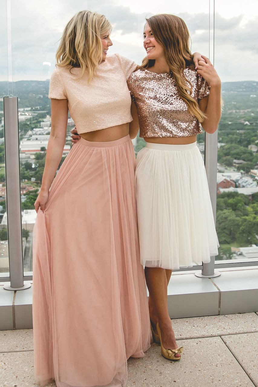 Bandie sequin top wedding guest dress ideas pinterest sequin