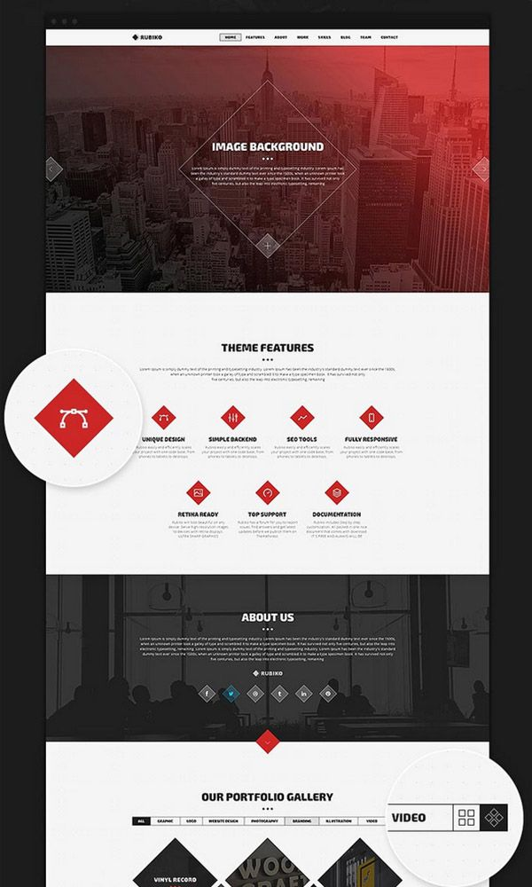 Website Layout Template 200 Amazing Free Psd Website Templates  Template And Website