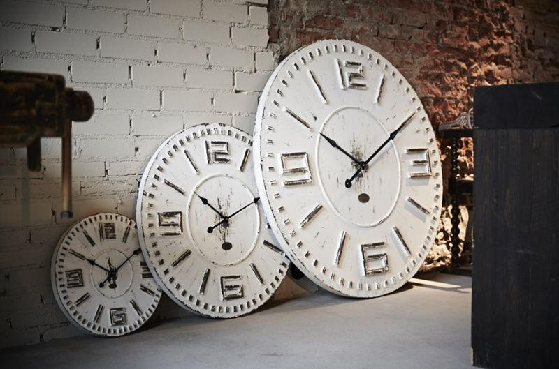 Riverdale wandklok Time White 102 | Riverdale Collectie 2014/2015 | Valeur Home Decoration