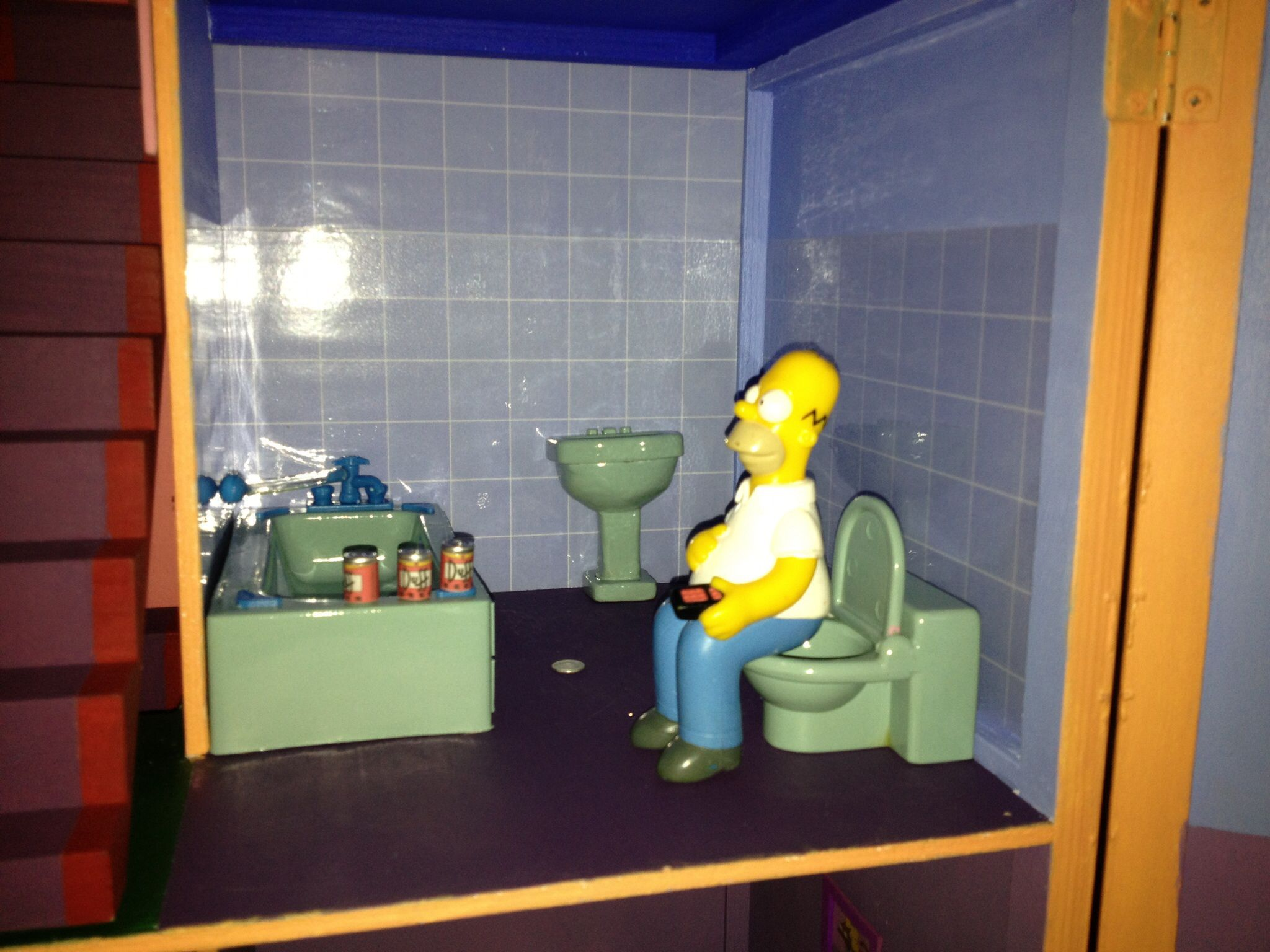 Homer Having A Duff Break In The Bathroom  Ants Bathroom  Pinterest Prepossessing Ants In Bathroom Design Ideas