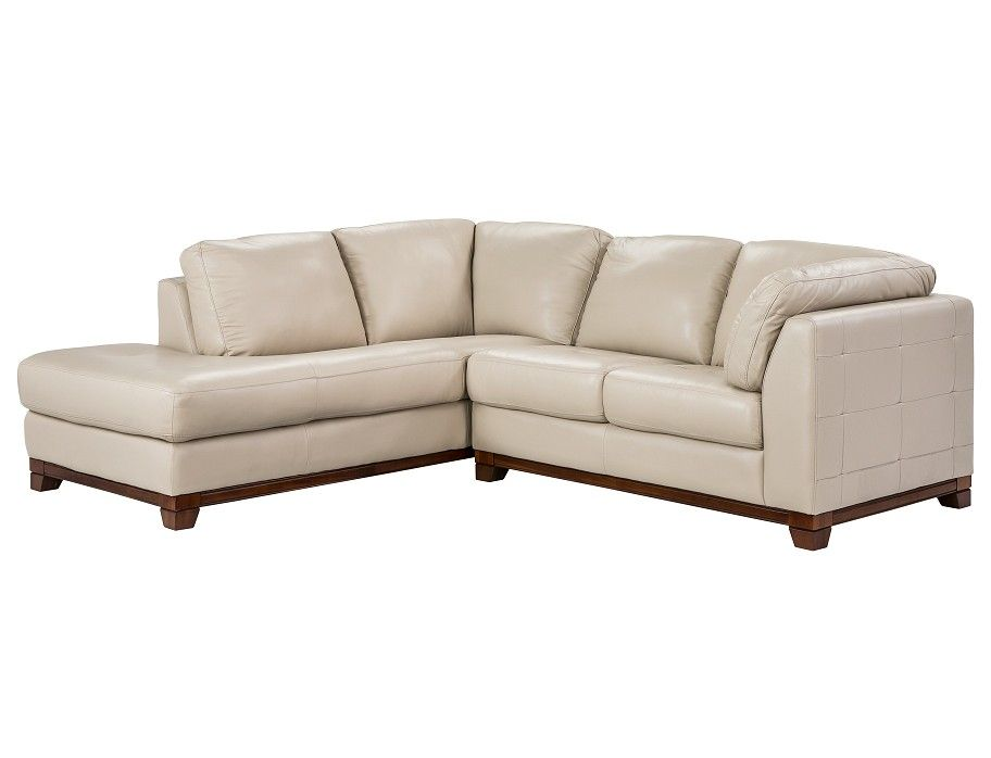 Slumberland Brooklyn Collection Taupe Left Chaise Small Sectl