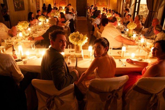 Beautiful Candelit Wedding Reception At Rancho Santana