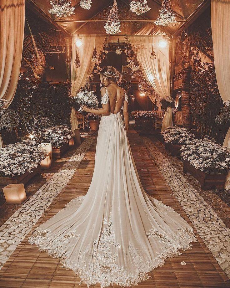 Open back Hochzeitskleid - # Hochzeitskleid #Open - Kleider - #Hochzeitskleid #K... 1