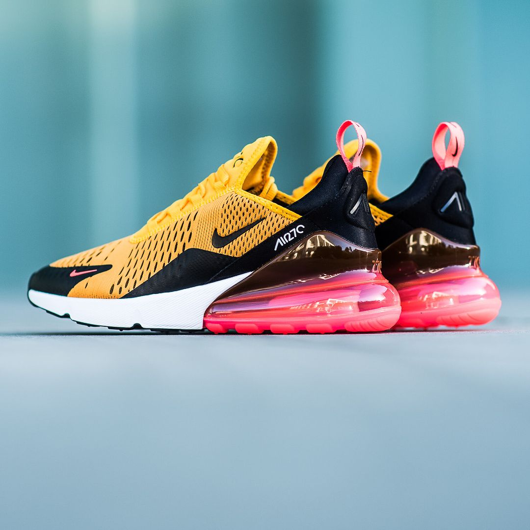 half off ac2df 2359b Nike Air Max 270  University Gold Black