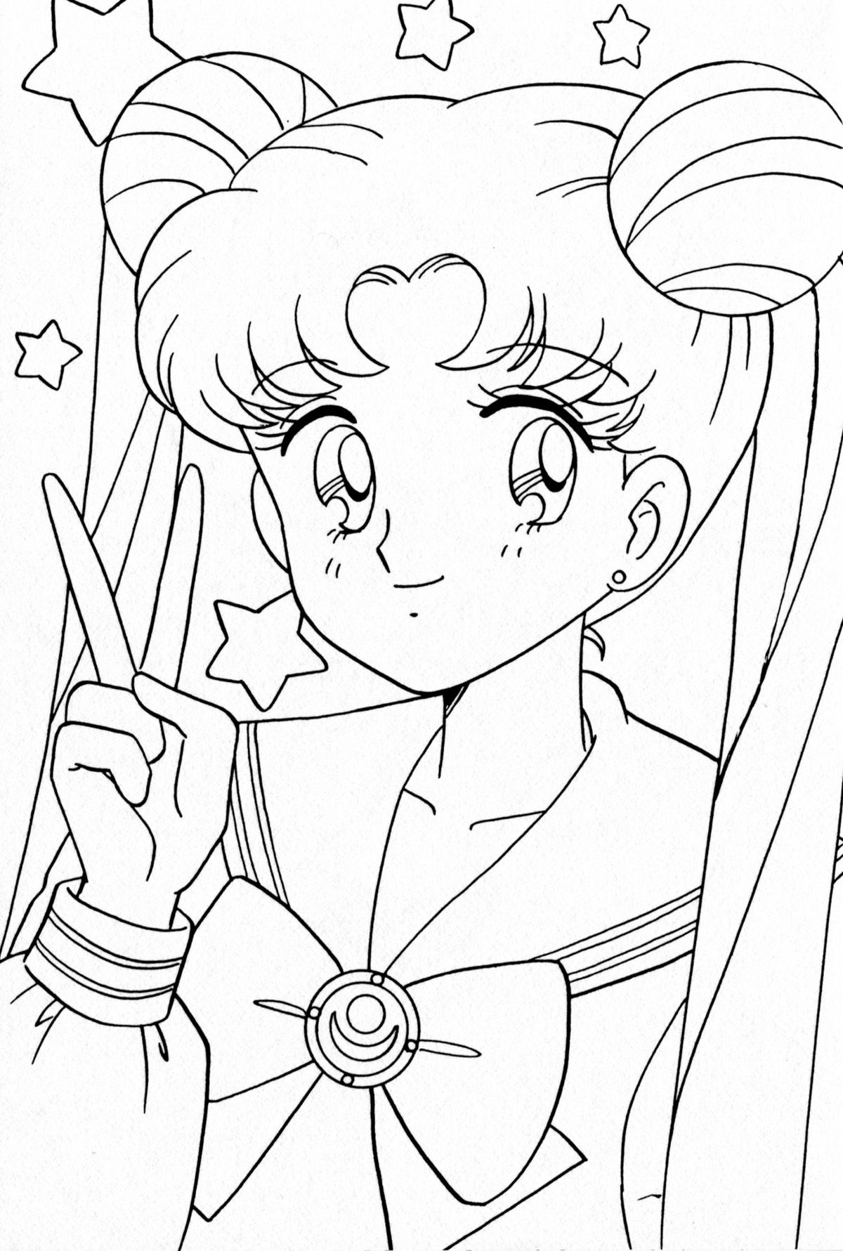 Sailor moon coloring pages | Sailor moon coloring pages, Moon ... | 1781x1200