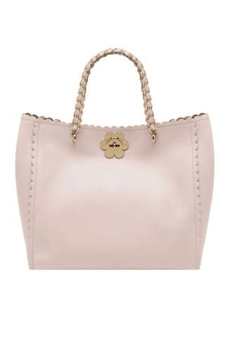 43ec95e2ad mulberry cecily tote with flower in cream | My style. | Bags ...