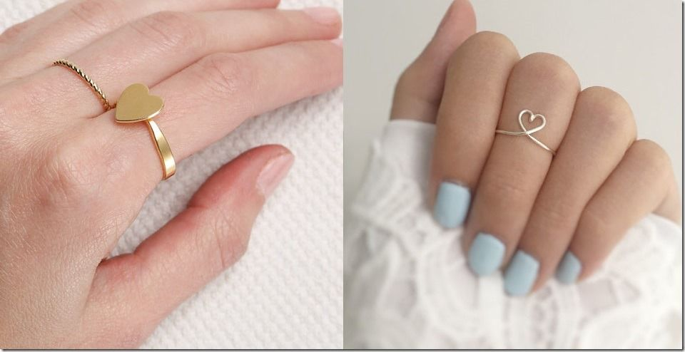 5 Types Of Simple Heart Rings To Give To That Special Someone